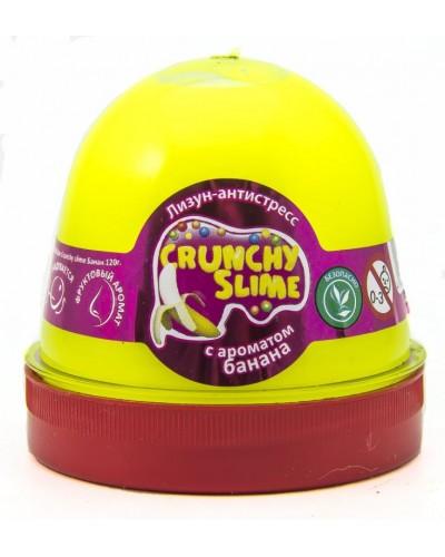 Лизун-антистрес TM Mr.Boo Crunchy slime Банан 120г.