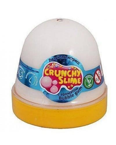 Лизун-антистрес TM Mr.Boo Crunchy slime BubbleGum 120г.