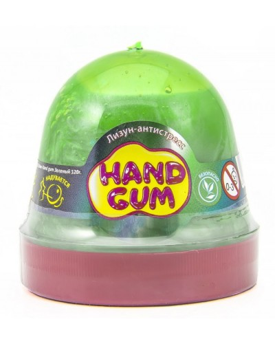 Лизун-антистрес ТМ Mr.Boo Hand gum Зелений 120 г. 80100А