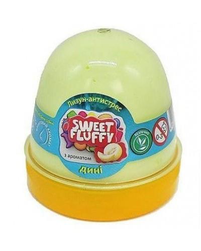Лизун-антистрес TM Mr.Boo Sweet fluffy Диня 120мл. 80109А