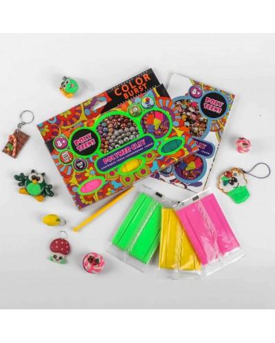 Набір полімерної глини для ліплення ТМ Poly Teens Color Burst РТ00004