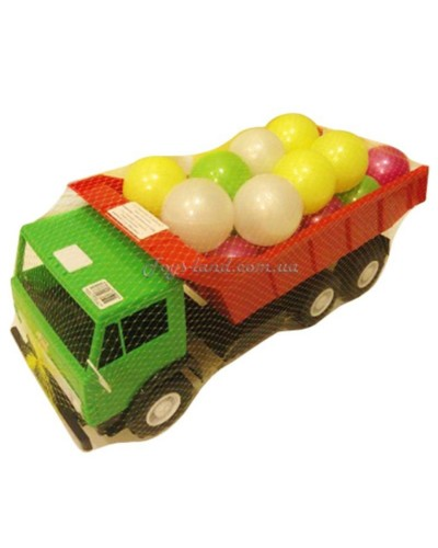 """Машина с шариками """"Камаз"""" серия Х3 (цвет в ассортименте), арт. 443 в 2, Орион"""