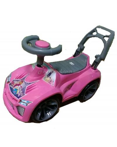 Машинка для катання ЛАМБО рожевий