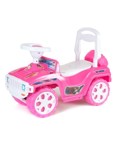 "Автомобиль для прогулок ""Ориончик"" (ярко-розовый), арт. 419Я-Р, Орион"