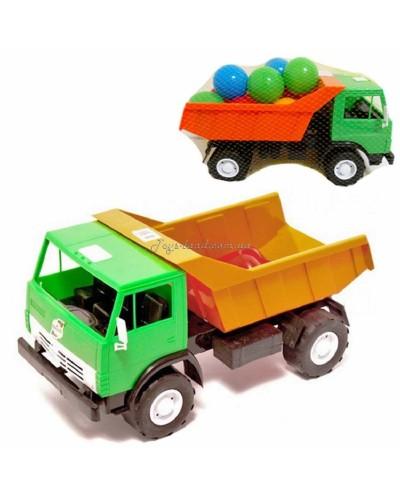 "Машина с шариками ""Самосвал"" серия X2 (цвет в ассортименте), арт. 471 в 2, Орион"