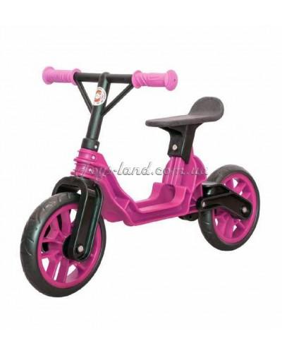 """Мотоцикл 2-х колёсный """"Байк"""" (ярко-розовый), арт. 503Я-Р, Орион"""