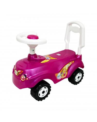 """Автомобиль для прогулок """"Микрокар"""" (ярко-розовый), арт. 157Я-Р, Орион"""