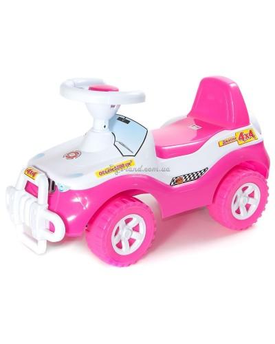 "Автомобиль для прогулок ""Джипик"" (ярко-розовый), арт. 105Я-Р Орион"