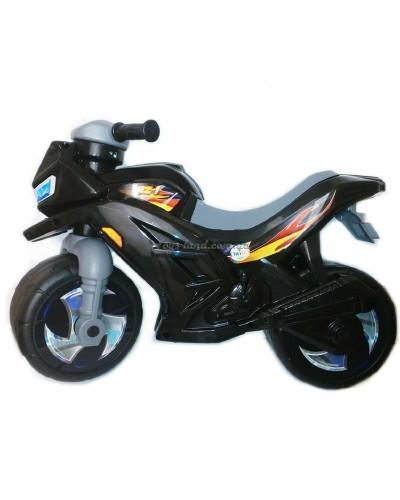 Мотоцикл 2-х колёсный (черный), арт. 501ЧОРН, Орион