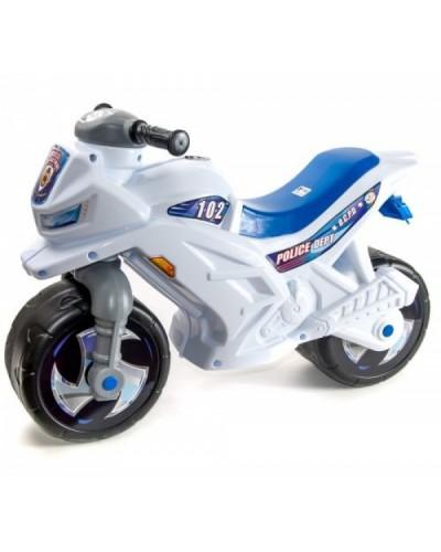 Мотоцикл 2-х колёсный (белый), арт. 501Бел, Орион