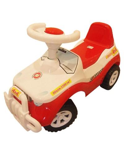 """Автомобиль для прогулок """"Джипик"""" (красно-белый), арт. 105, Орион"""