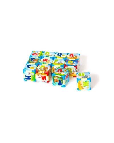 Азбука на кубиках М 12шт Р