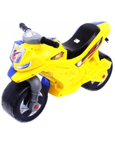 МОТОЦИКЛ 2-х колесный жёлто-голубой