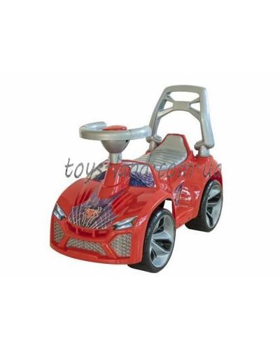 Машинка для катания ЛАМБО красный