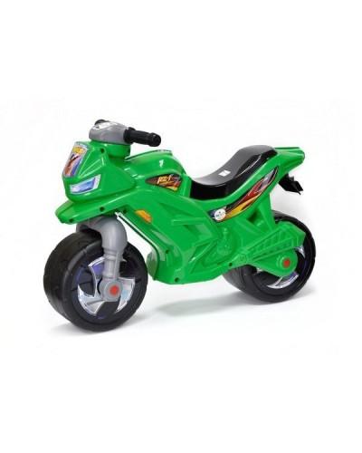 МОТОЦИКЛ 2-х колесный зеленый