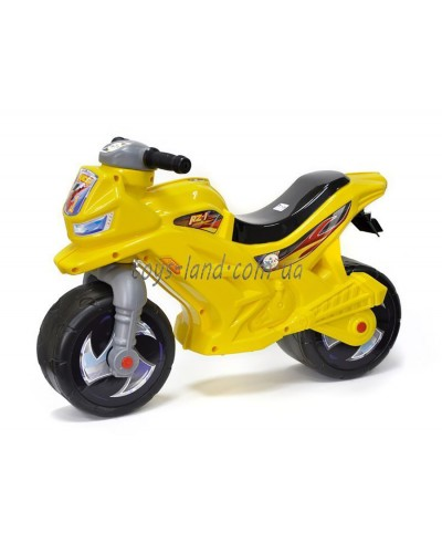 МОТОЦИКЛ 2-х колесный лимонный