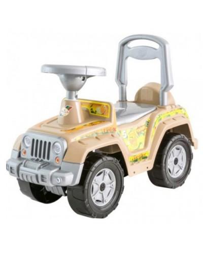 Машинка для катания 4 х 4 песочный