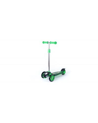 Самокат Зеленый 555х290х755 мм