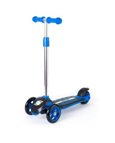 Самокат Синий 555х290х755 мм
