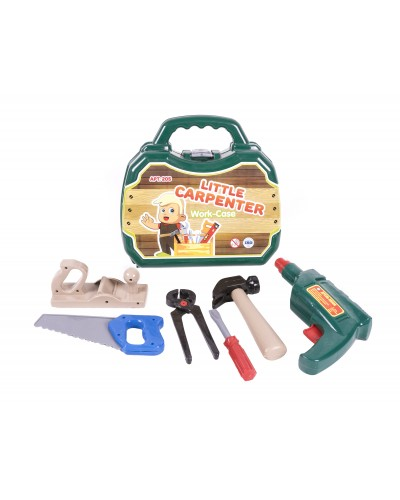 Набор инструментов Столяр в чемодане