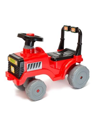 Машинка для катання БЕБІ ТРАКТОР червоний