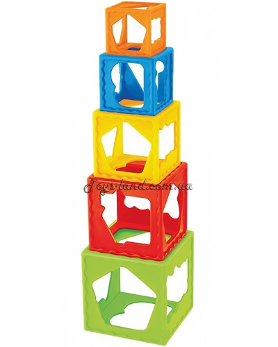 Кубики-пирамидка 9М+ укр.упаковка