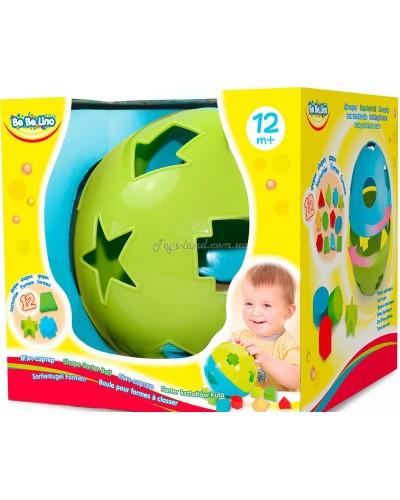 Мяч-сортер 12 форм 1+
