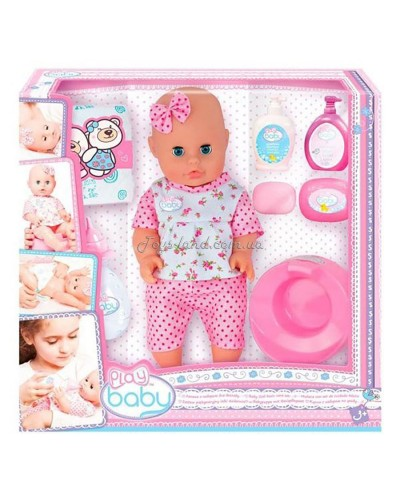 Кукла 32см с набором по уходу; 3+