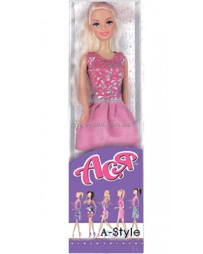 Кукла Ася 'А-Стиль'; 28 см; блондинка; вариант 1