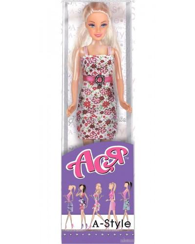 Кукла Ася 'А-Стиль'; 28 см; блондинка; вариант 2