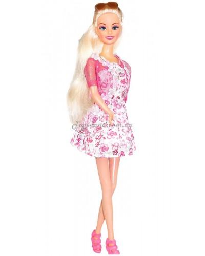Кукла Ася 'Городской стиль'; 28 см; блондинка; вариант 1
