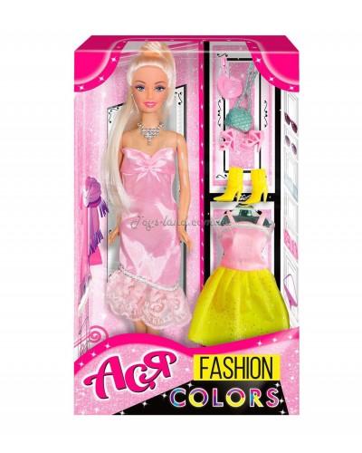Кукла Ася 'Модные цвета'; 28 см; блондинка; вариант 1
