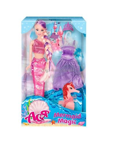 Кукла Ася 'Магия русалки'; 28 см; блондинка; вариант 2
