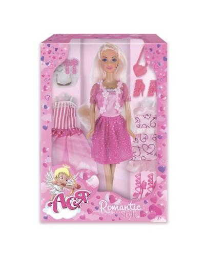 Набор с куклой Асей 'Романтический стиль'; 28 см; блондинка; вариант 1