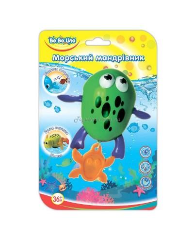 Игрушка для ванной Морской путешественник-Лягушка 3+