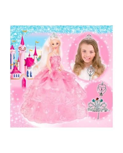 Набор с куклой Асей 'Стиль принцессы'; 28 см; блондинка