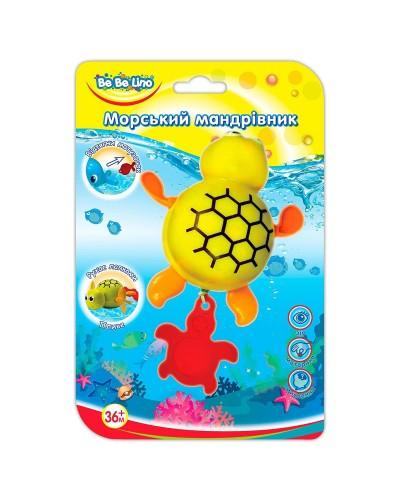 Игрушка для ванной 'Морской путешественник-Черепашка';3+