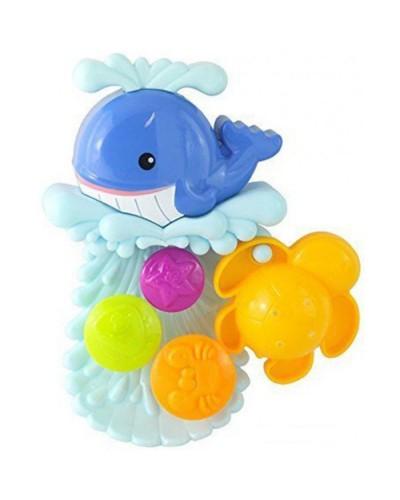 Игрушка для ванной 'Дельфин-Водяное колесо';1+