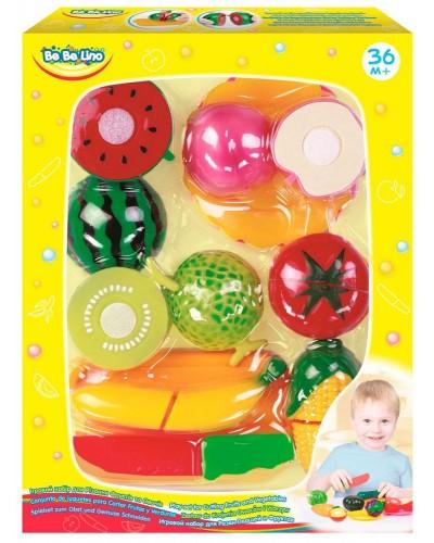 Игровой набор для резки овощей и фруктов;3+