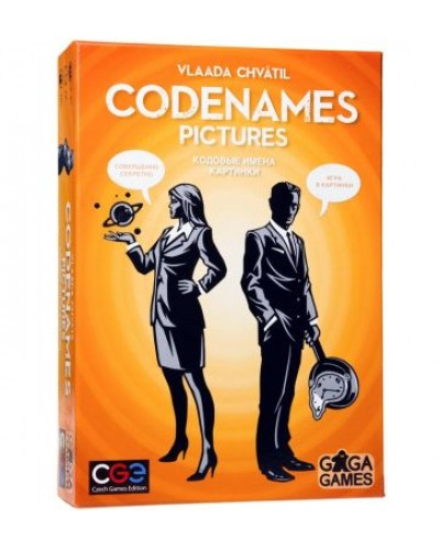 Настольная игра 'Codenames Pictures';10+
