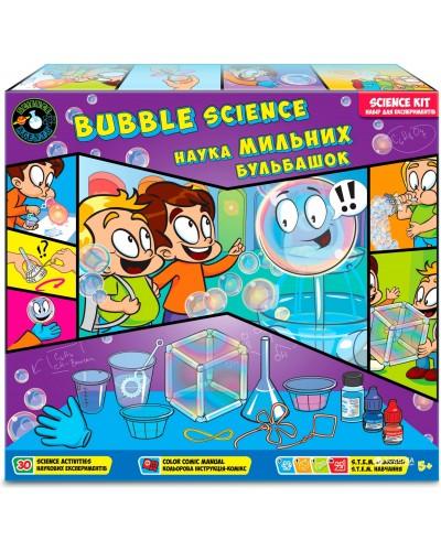 Набор 'Наука мыльных пузырей';5+