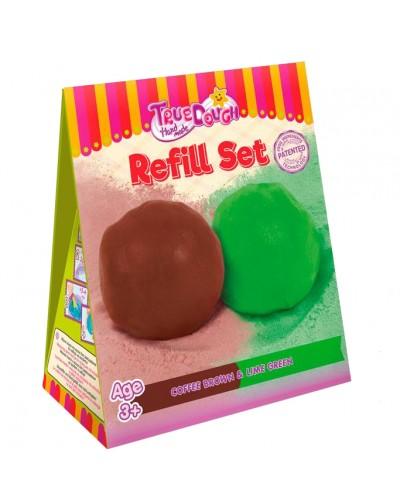 Дополнительный набор смесей для лепки 'Лаймово-зеленый и Кофейно-коричневый'