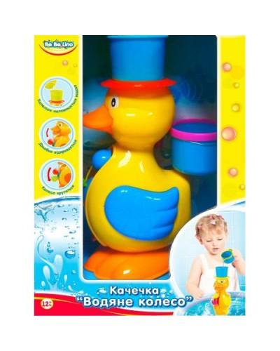 Игрушка для ванной 'Уточка-Водяное колесо';1+
