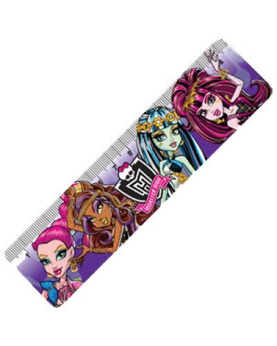 """Лінійка пласт. 15см Centrum """"Monster High"""" 85430"""