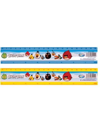 """Лінійка пласт. 20см Centrum """"Angry Birds"""" 84415"""