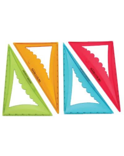 Трикутник пласт. 30%  7см. Centrum об'ємн. кольори в асорт. 83542