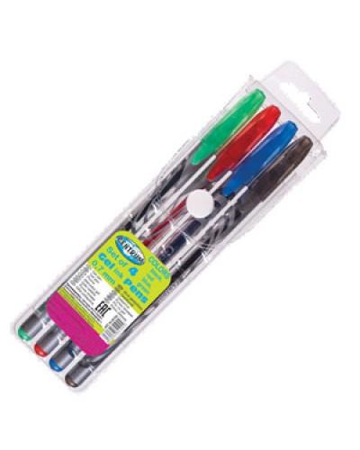 Набір гелевих ручок Сentrum  4шт. 0,7мм 84194
