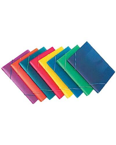 Папка на рез.пласт. А5 Centrum кольор.асорт., 0,45мм 80014