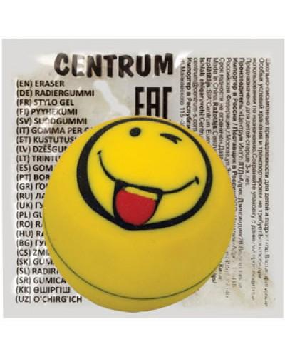 "Гумка Centrum ""Smile"" синт.каучук, діаметр 2,5 см, асорті 88040"