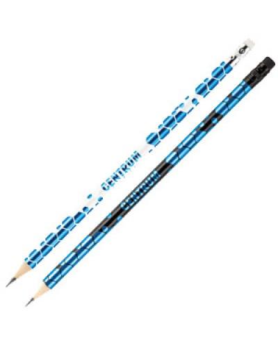 Олівець  Centrum НВ 88030 заточений з гумкою, в пласт.друмі 10шт уп, продажа уп, цена шт